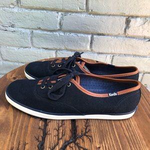 KEDS Navy Wool Classic Sneakers sz 8